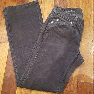 4 for $25 Loft grey corduroy pants bootcut 00P